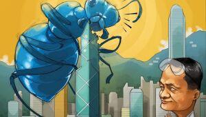 Charge: IPO recorde de Ant Group vê a ascensão de um novo gigante