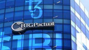 BTG Pactual cai quase 2% após resultados do terceiro trimestre