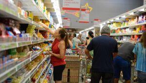 Supermercados do Rio têm aumento de 3,98% nas vendas em 10 meses