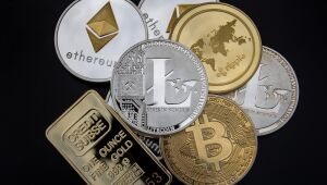 Criptomoedas: Ripple sobe mais de 11%; Bitcoin opera em baixa