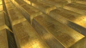 Ouro em alta pela 2ª semana consecutiva apesar da alta do dólar e rendimentos