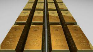 Ouro flerta com US$ 1.750 com recuo de rendimentos de títulos dos EUA e dólar