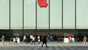 Apple sobe com pesquisa do UBS que aponta para forte demanda