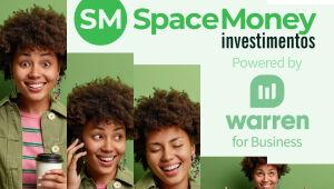 SpaceMoney lança plataforma de investimentos por objetivos, em parceria com a Warren