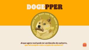 Burger King aceitará criptomoeda como pagamento para biscoito canino