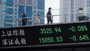 Ações do Japão fecham em baixa com preocupações sobre China