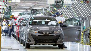 Toyota suspenderá operação de fábrica em Indaiatuba em outubro