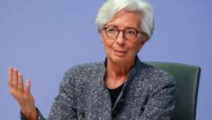 Lagarde, do BCE, mantém visão benigna sobre alta da inflação
