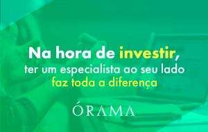 Na hora de investir, ter um especialista ao seu lado faz toda a diferença