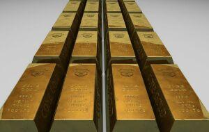 Ouro atinge mínima de um mês abaixo dos US$ 1.850 com rumores de reversão monetária do Fed