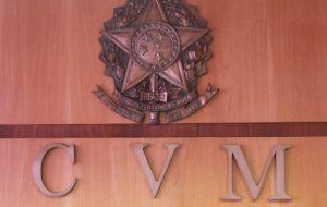 CVM suspende registro de três companhias incentivadas