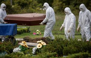 Covid-19: em 24 horas foram registrados 15,2 mil casos e 570 mortes