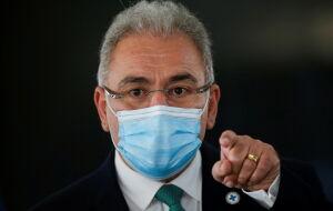Ministro da Saúde testa positivo para covid-19 em Nova York