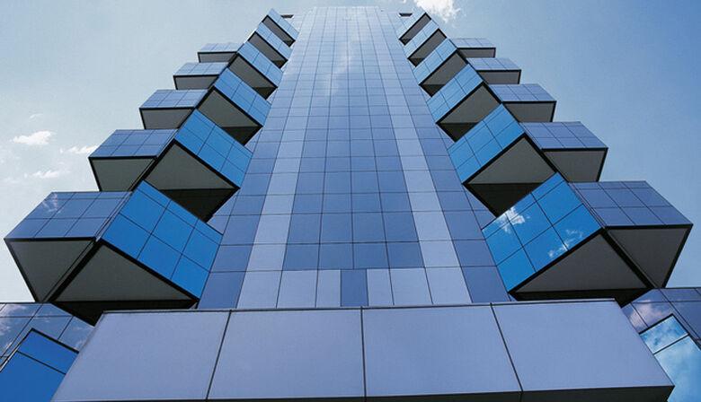 Business Center em São Paulo, construído pela Viver