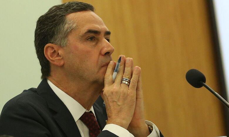 Luís Roberto Barroso, ministro do STF e presidente do TSE