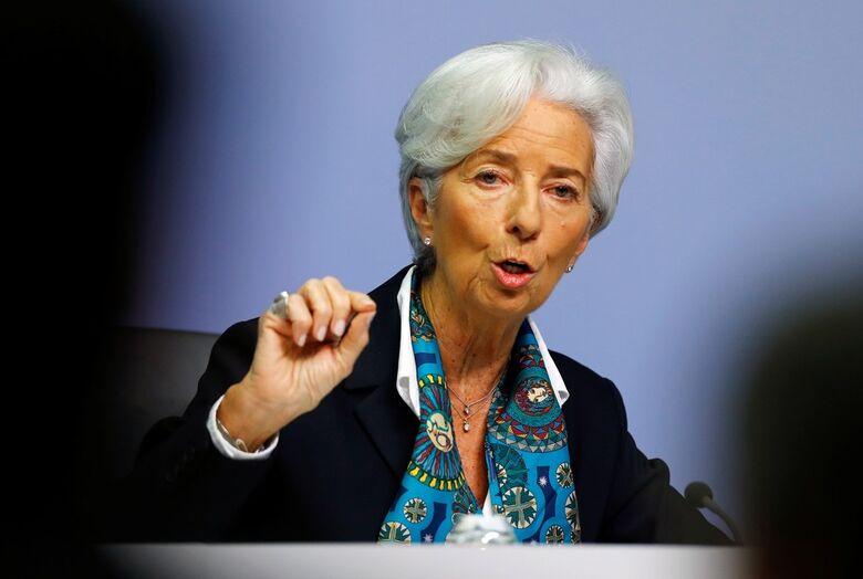 Christine Lagarde, presidente do Banco Central Europeu  Foto: Ralph Orlowski/Reuters