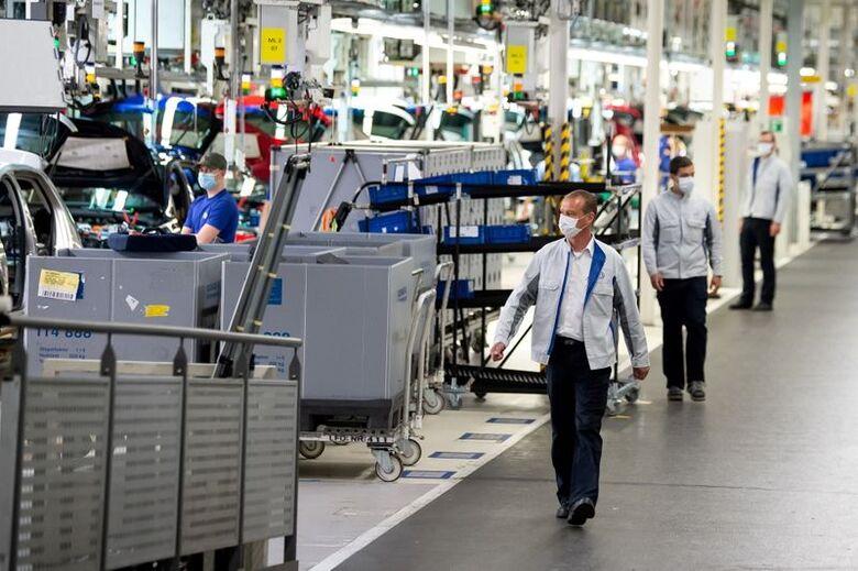 Fábrica da Volkswagen em Wolfsburg, Alemanha