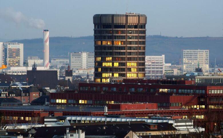 Sede do BIS na Basiléia, Suíça