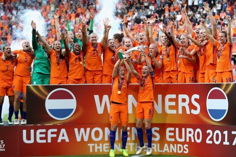 Seleção holandesa é campeã da Euro 2017