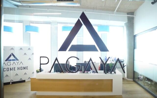Escritórios da fintech Pagaya em Tel Aviv