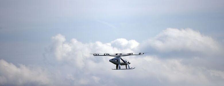 Protótipo de aeronave de decolagem e descida verticais
