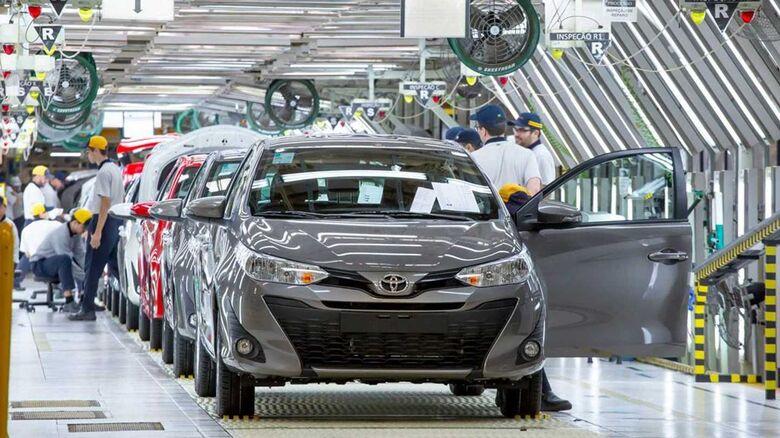Fábrica da Toyota em São Paulo
