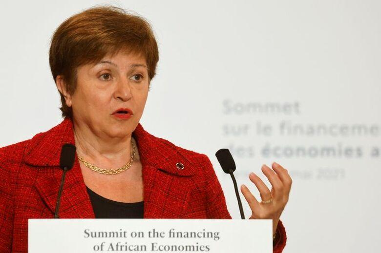 Reuters. Chefe do Fundo Monetário Internacional, Kristalina Georgieva, 18/05/2021.