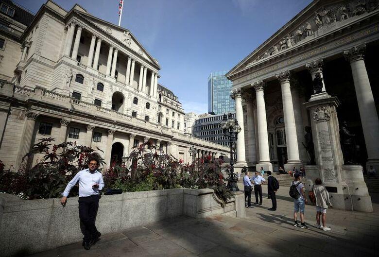 Reuters. Banco central britânico, em Londres ,13/9/2021