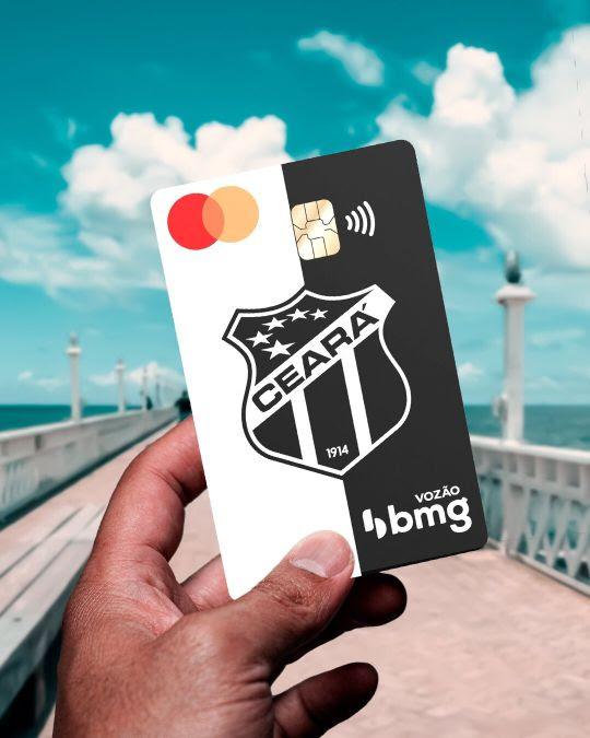 Parceria entre Ceará e Bmg