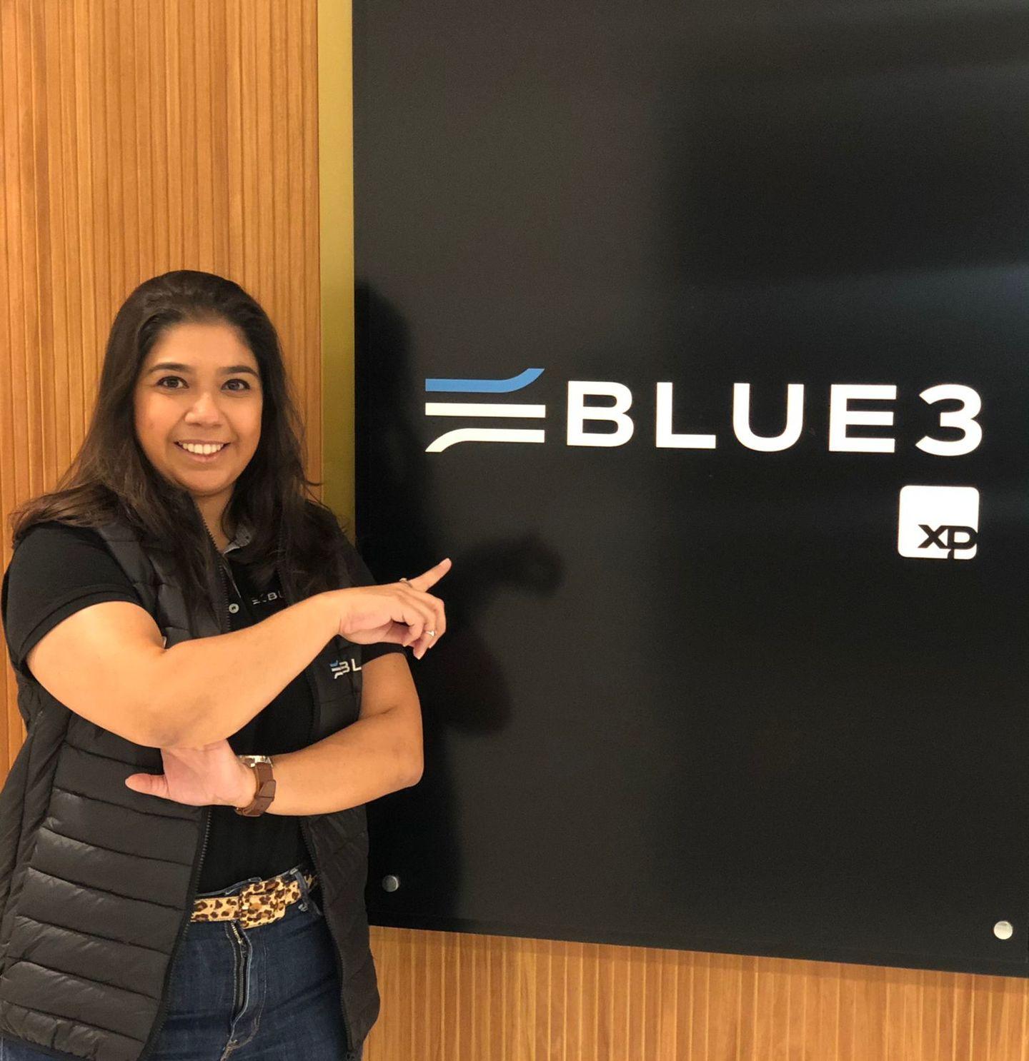 Renata Amaral, nova colaboradora da Blue3
