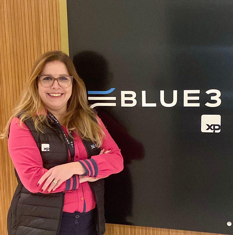 Gilmara Barbosa, nova colaboradora da Blue3